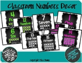 Classroom Numbers Decor ( 1-20)