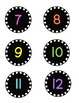 Classroom Numbers and Letter Labels