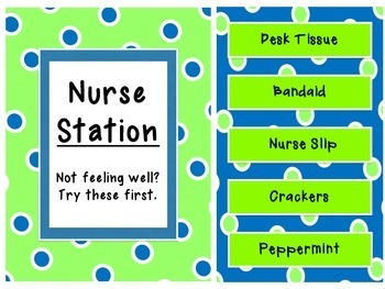 Classroom Nurse Station