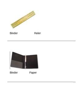 Classroom Object Assessment