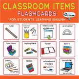 Classroom Objects - Flash Cards