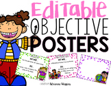 Classroom Objective Posters