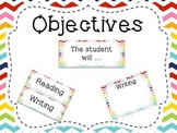 Classroom Objectives and Targets