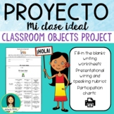Spanish Classroom Objects Project - Mi clase ideal