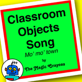Classroom Objects Song (Mo Mo Town) by The Magic Crayons - MP3