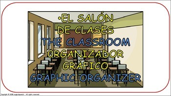 Classroom Objects. Flashcards - PDF Document.