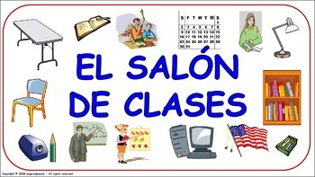 Classroom Objects. Flashcards - PDF Document.