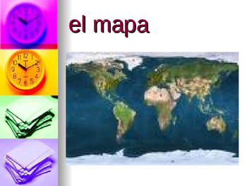 Classroom Objects in Spanish