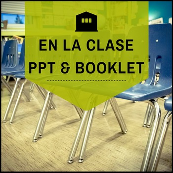 Classroom Objects in Spanish: An Interactive Notebook Mini-Book and PowerPoint