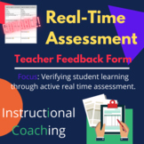 Classroom Observation Feedback Form: Real-Time Assessment