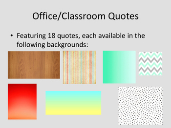 Classroom Office Quotes