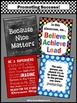 Motivational Poster Set for Back to School Teacher Classro