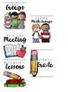 Classroom Organization - Labels