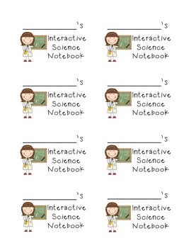 Classroom Organization Labels for Notebooks and Folders