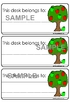 Classroom Organization Pack - Apple Theme