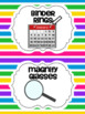 Classroom Labels for Organization Shoe Boxes and Baskets