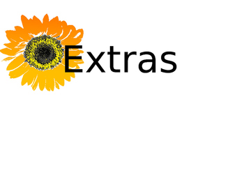 "Classroom Organization Wire Basket Signs Sunflower Theme ""Editable"""