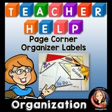 Classroom Organization and Teacher Planner Labels