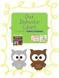 Classroom Owl Themed Behavior Clip Chart