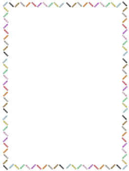 Classroom Page Borders