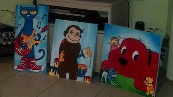 Classroom Paintings
