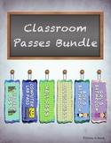 Classroom Passes Bundle
