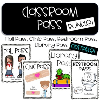 restroom pass