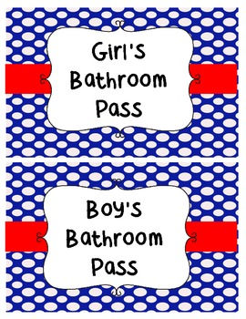 Classroom Passes Package