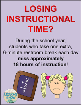 Classroom Passes: Restroom, Homework, Late Work, and Blank Template