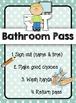 Printable Pass Set