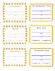Classroom Passes Set - Haystacks and Yellow Pencils