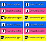 Classroom Passes in Spanish