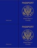 Classroom Passport Template FLEX