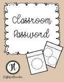 Classroom Password