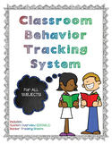 Classroom Paycheck Behavior Tracking System *GROWTH MINDSE