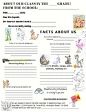 Classroom Pen Pal - Writing exercises for students with a