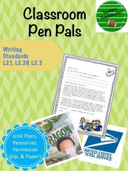 Classroom Pen Pals Mini-Unit and Resources