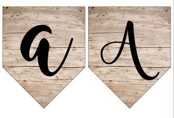 Classroom Pendants: Wood/ Shabby Chic Theme