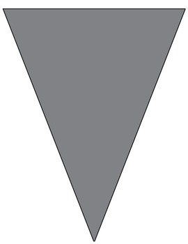 Classroom Pennant Blue and Grey