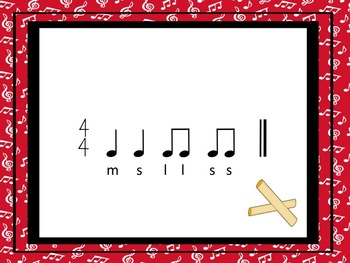 Classroom Percussion - A Game for Practicing  s,m and l