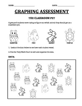 Graphing Assessment The Classroom Pet