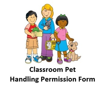 Classroom Pet Handling Permission Form