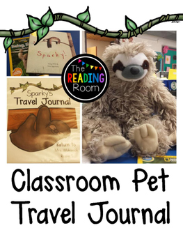 Classroom Pet Travel Journal