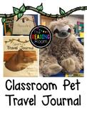Classroom Pet Travel Journal