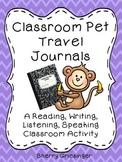 Classroom Pet Travel Journals