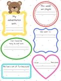 Classroom Pet Writing Journal & Activity Log