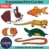 Classroom Pets Clip Art