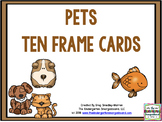 Pets Ten Frame Cards