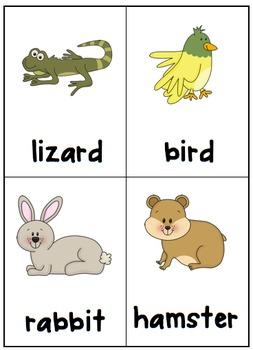 Classroom Pets Writing Packet & Reader