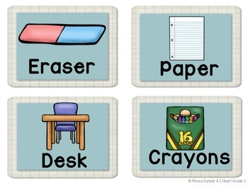 Pictograms for Classrooms